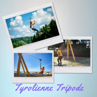 Tyrolienne Tripode
