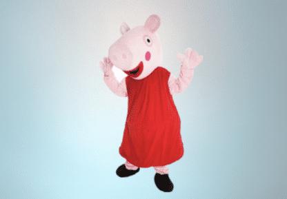 Mascotte Peppa Pig