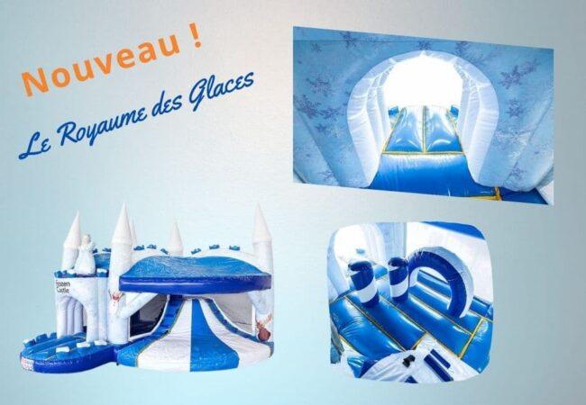Chateau gonflable Royaume des glaces